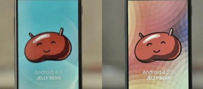 Android 4.3 nhanh hơn 4.2.2 trông thấy