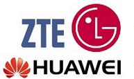 LG, Huawei và ZTE tranh giành vị trí thứ 3