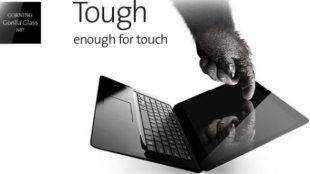 Kính Gorilla Glass bảo vệ laptop màn hình cảm ứng