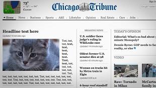 Báo mạng Mỹ Chicago Tribune bị một phen ê mặt
