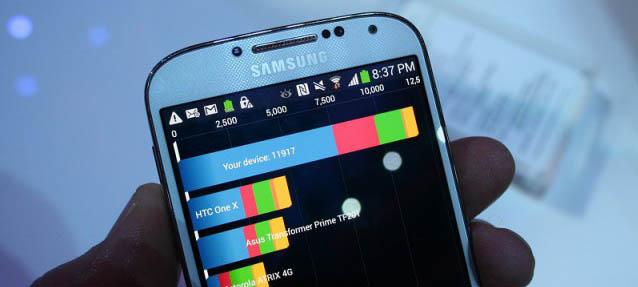 """GPU Galaxy S4 chỉ """"mạnh"""" với benchmark?"""