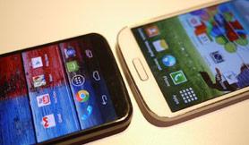 Thử so sánh Motorola Moto X và Samsung Galaxy S4