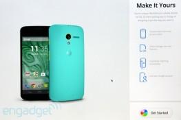 MotoMaker: website cho người dùng tự thiết kế Moto X mang phong cách riêng