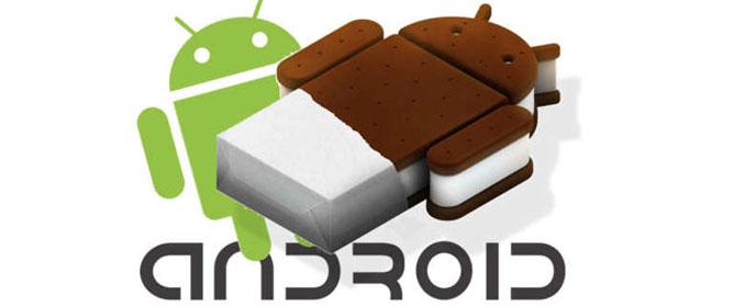Các smartphone, máy tính bảng sẽ được cập nhật Android 4.0
