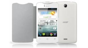Acer ra mắt Liquid Z3: Màn 3.5 inch, chip lõi kép, 2 SIM giá rẻ