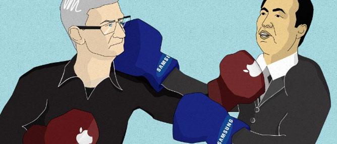 Apple vs. Samsung: Bảng điểm các hiệp đấu