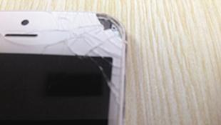 iPhone 5 lại phát nổ, nạn nhân có thể bị mù