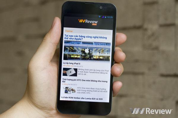 Đánh giá nhanh điện thoại HKPhone Revo Lead