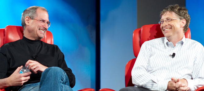 Steve Jobs, Bill Gates và con đường trở thành huyền thoại