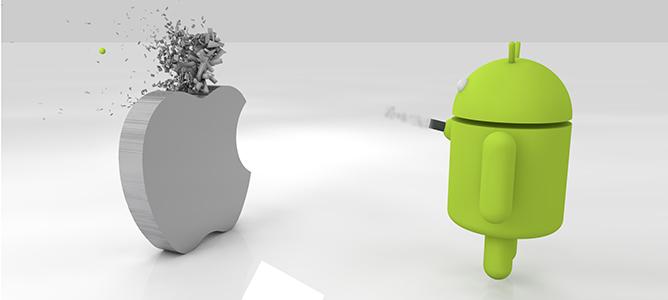 Android đã lật đổ iOS như thế nào?