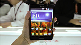 LG Vu III được trang bị chip Snapdragon 800