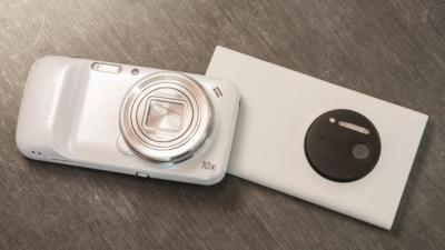 Nokia Lumia 1020 đọ chụp ảnh với Samsung Galaxy S4 Zoom