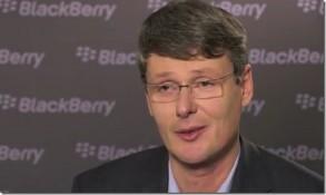 BlackBerry đền bù 55.6 triệu USD cho Thorsten Heins