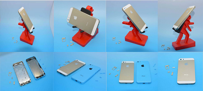 70 hình ảnh chi tiết nhất về iPhone 5S, iPhone 5C