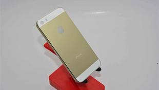 Vì sao iPhone 5S có màu vàng sâm-panh?