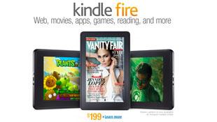 Kindle Fire sắp vượt Galaxy Tab, chỉ thua iPad