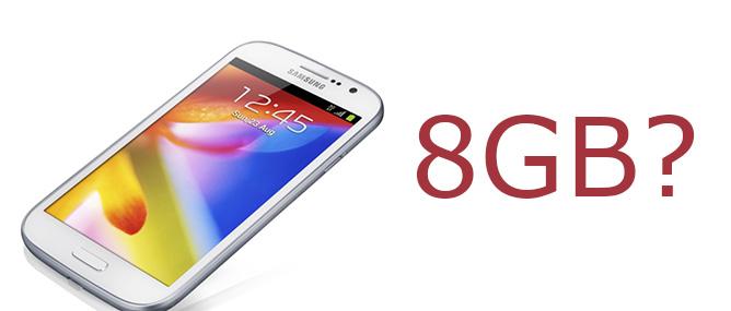 8 GB bộ nhớ trong đã đủ cho smartphone?