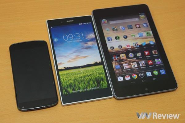 Đánh giá nhanh Sony Xperia Z Ultra