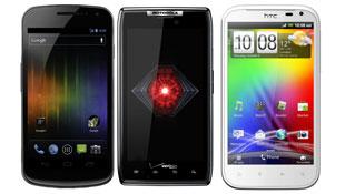 Đọ Rarz, Galaxy Nexus và Sensation XL