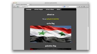 Hacker Syria tấn công website trường ĐH Ngoại Thương