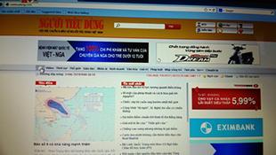 Thêm một báo điện tử Việt Nam bị hacker tấn công