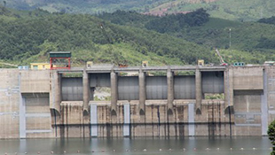 Thủy điện sông Tranh 2 lại rung chuyển vì động đất 3,3 độ richter