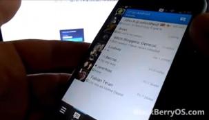 """Video: BlackBerry Messenger """"tung hoành"""" trên Android"""