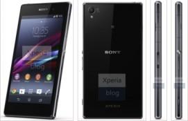 Lộ thông số chi tiết Sony Xperia Z1