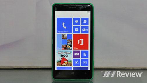 Đánh giá Nokia Lumia 625
