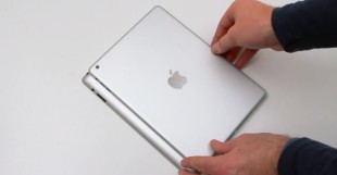 """Video iPad 5 """"đọ dáng"""" với iPad 4"""