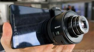 Sony QX Smart Lens, đưa toàn bộ camera lên smartphone