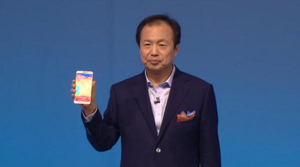 Samsung Galaxy Note 3 chính thức: vỏ lưng giả da, RAM 3GB, camera 13MP