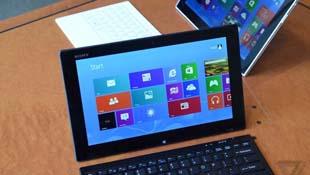Bế tắc, Sony ra tablet giống hệt Surface