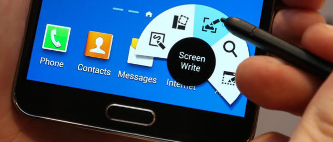 Trên tay Galaxy Note 3: vỏ giả da mới, đa nhiệm tốt hơn