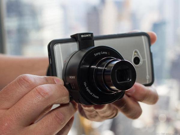 Tương lai của smartphone: bộ phận camera