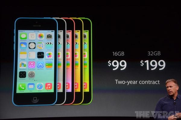 iPhone 5C chính thức ra mắt