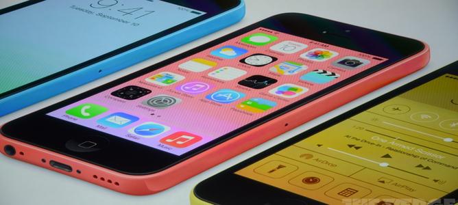 iPhone 5C: Màn hình 4 inch Retina, chip A6, camera 8MP