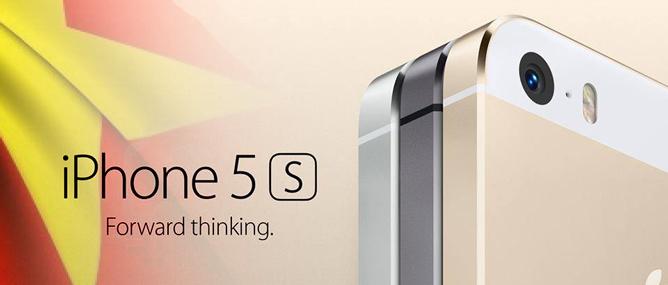 Giá iPhone 5S, iPhone 5C về Việt Nam là bao nhiêu?