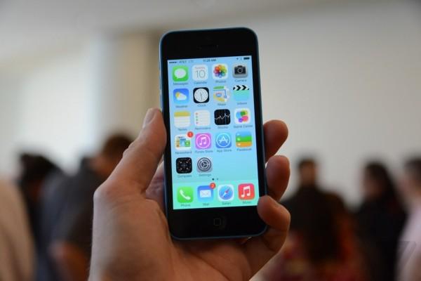 Trên tay iphone 5c giá rẻ