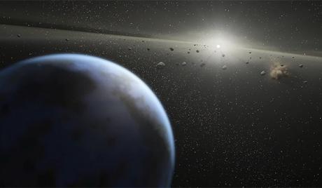 Tiểu hành tinh đường kính 230km đang tiến gần Trái Đất
