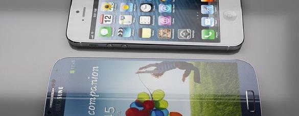 Đại chiến 2013: iPhone 5s vs Galaxy S4