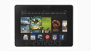 Ảnh báo chí và thông số kỹ thuật của Kindle Fire mới