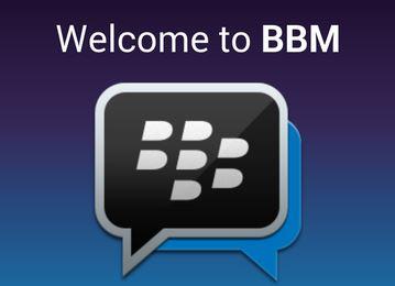 Tải về bản rò rỉ BlackBerry Messenger cho Android