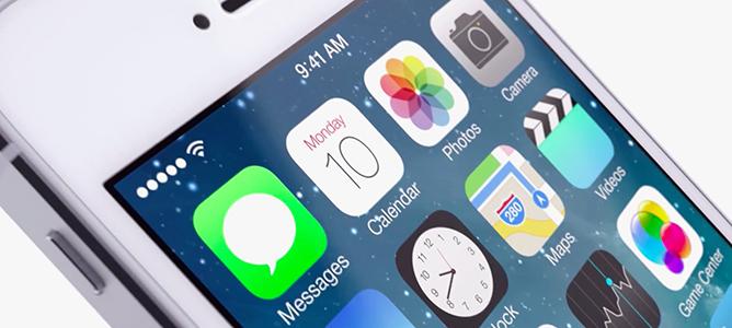 Kích hoạt 14 tính năng bị ẩn trong iOS 7