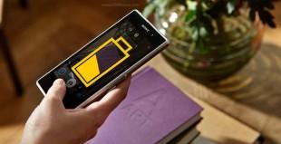 Thời lượng pin Xperia Z1 không gây ấn tượng!