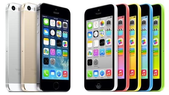 iPhone 5s và 5c so găng với các đối thủ Android