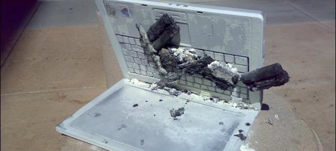 """Hiểm hoạ cháy, nổ smartphone, laptop do dùng pin """"rởm"""""""
