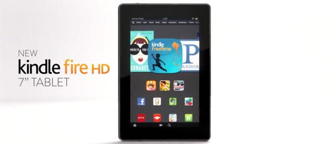 Trên tay Kindle Fire HD 2013 có giá cực mềm