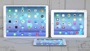 Không chịu kém Samsung, Apple cũng ra iPad 12 inch