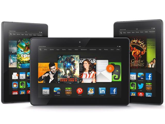 Đọ thông số Kindle Fire HD 2013, Kindle Fire HDX với Nexus 7, iPad mini